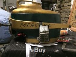 Mercury Mark 20H Motor Covers, recoil And Quincy Exhaust, Race Outboard, Vintage