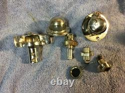 Miscellaneous vintage Chrome boat parts Used