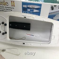 Mrp model boat in box vintage parts as is aussie ii 1/38 5557