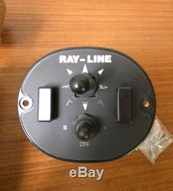 NEW IN BOX- VINTAGE JABSCO RAY-LINE BOAT SEARCH LIGHT SPOT MARINE 61022