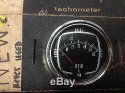 NOS MerCruiser Silverline 63-72 Vintage Tachometer New Rat Rod Hot Rod Custom