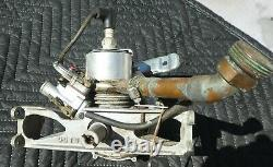 Ohlsson Rice 1HP 2 Stroke Water Cooled USED Engine for PARTS Vintage RC Boat O&R