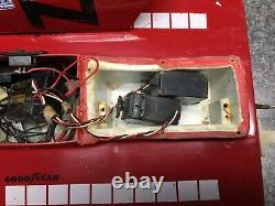 Old Vintage Rc Boat Hydroplane Twin Motors 30 Parts Repair Restore Classic Look