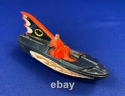 Original vintage 1960s Corgi BATBOAT for parts or restoration Bat Boat