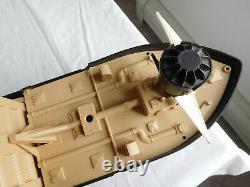 PHANTOM RAIDER BOAT SHIP Ideal vtg PR-135 Motor runs/parts repair PLEASE READ