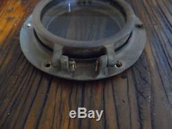Perko #5 Antique Bronze Porthole Portlight Nautical Decor Sailboat Compac 23