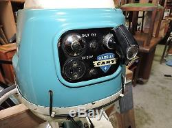 RARE VINTAGE 60s MCM GARELLI CARY JET 4 outboard motor engine ITALY RUNNING LOOK