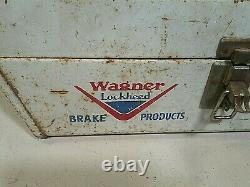 RARE VINTAGE WAGNER LOCKHEED PARTS TOOL BOX ORIGINAL brake products