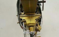 Restored 1940-50's vintage outboard boat motor Neptune AA1 serial H141UU 1.7 HP