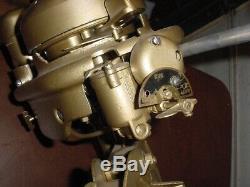 Restored Muncie Neptune Vintage Antique Outboard Boat Motor Marine Engine