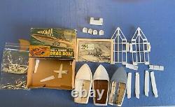 Revell Go & Show Drag Boat & Trailer Varoom Vintage 1963 Parts Box