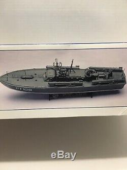 Revell PT-109 PT Boat Commanded By LTJG John F Kennedy Vintage Sealed Parts Bag
