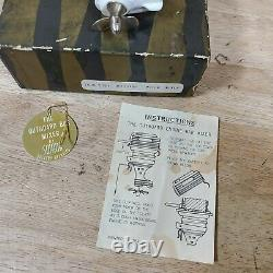 Swank The Outboard Engine Bar Mixer Vintage Boat Engine Parts As-IS