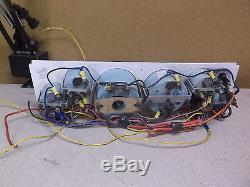 Teleflex Vintage Boat Marine Dash Gauge Instrument Panel FREE SHIPPING