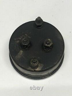 USED STEWART WARNERVINTAGE CENTURY BOAT TEMP GAUGE 12 VoltFor Parts/Restore