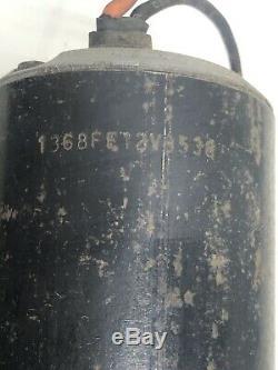 USED Vintage Jabsco 6360-0001 Boat Marine Water Pump 12volt for Parts Rebuild
