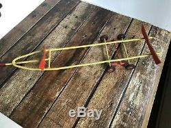 VINTAGE 27 WOOD TOY BOAT RC CENTURY PARTS RESTORATION HTF Tow Trailer Crusier