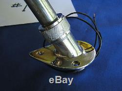Vintage Boat Stern Light #1 Chris Craft Sea Skiff/others 40's-60's Era Very Good