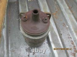 VINTAGE Blue Streak UM-3 FINNED MARINE COIL Standard UM3 Used Boat Parts 6 Volt