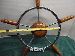 Vintage Chris Craft Wheel 18 Inch Splined Free Shipping