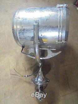 Vintage Classic 13 Perko Chrome Brass Spot / Search Light