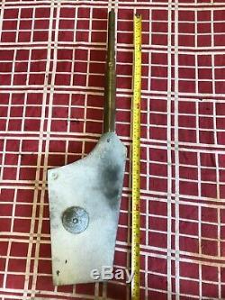 VINTAGE Chris Craft BRASS boat Rudder PARTS Sailboat Charter wooden ANTIQUE