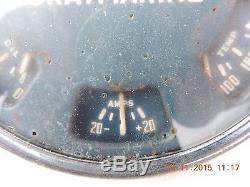 VINTAGE GRAYMARINE RPM TACH & GAUGES OLD BOAT / MARINE AC DIV. GMC RAT ROD