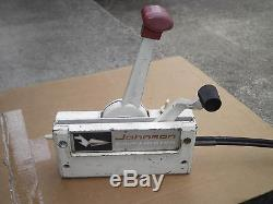 Vintage Johnson Outboard Ship Master Shifter Control Plus Cable's