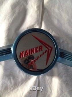 VINTAGE KAINER 15 BOAT MARINE STEERING WHEEL EXCELLENT