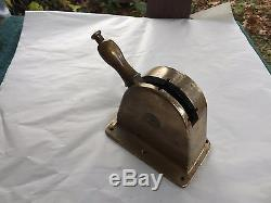 Vintage Large Brass Boat Or Yacht Control, Working, Excellent Condition