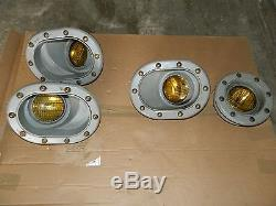 VINTAGE LOT OF MORSE DOCKING LIGHTS TYPE B AND OTHERS
