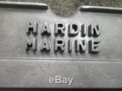 VINTAGE MICKEY THOMPSON 429 460 FORD HARDIN MARINE VALVE COVERS FLAT BOTTOM BOAT