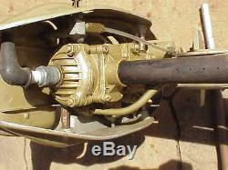 Vintage Neptune Mighty Mite Model Wc 1 Outboard Motor For Repair