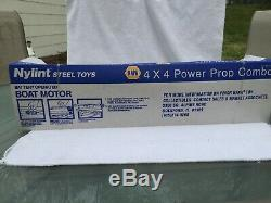 VINTAGE NYLINT NAPA AUTO PARTS 4x4 POWER PROP COMBO 6816-N NOS BLUE BOAT