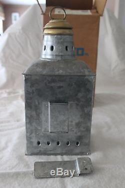 Vintage Perko Marine Ship Stern Lantern Light