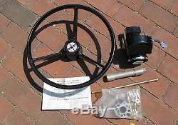 VINTAGE Ride-Guide Mercruiser 15 Steering Wheel & STEERING SYSTEM