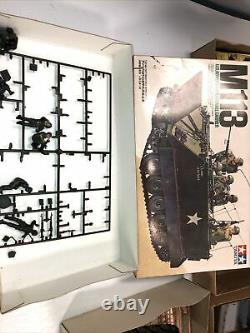 VINTAGE Tamiya Aveo Landcaster Airplane Tanks Boats Army War PARTS Not Comple