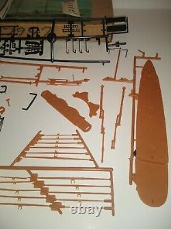 VTG 1972 Young Model Builders Club Aurora Cutty Sark Sail Boat Ship Kit parts