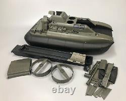 VTG Hasbro 1984 GI JOE KILLER WHALE with Stickers Hovercraft Boat Vehicle PARTS