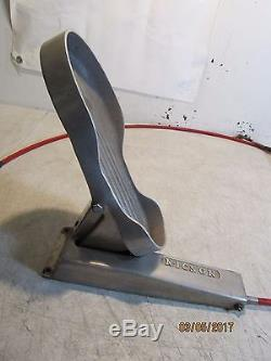 Vtg Nicson Aluminum Full Foot Accelerator Gas Fuel Pedal