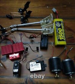 VTG Traxxas XL-1 Red ESC Motors Parts from RC Boat Propeller rotor, battery