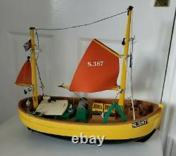 Very rare / Playmobil Vintage 3551 SUSANNE Fishing Boat/ parts or restoration