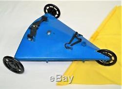 Vintage 12 GI Joe Adventure Team WIND BOAT for Parts or Repair