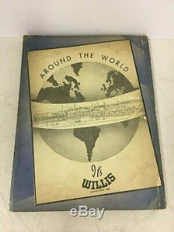 Vintage 1940 Boat Supplies By Willis Boating Nautical Parts Wood Boats Catalog