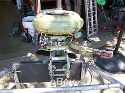 Vintage 1941 Champion 3 hp Outboard Motor Model S1G