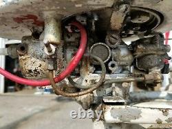 Vintage 1947 Evinrude 2HP Model 4416 Outboard Boat Motor for Restoration/Parts