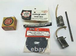 Vintage 1950's Gas Powered Parts Lot For Old Hydroplane Boats