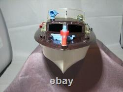 Vintage 1950s Ideal Toys Harbor Launch Plastic Toy Boat For Parts