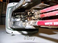 Vintage 1962 Chris Craft Morse Shift/Throttle Quadrant