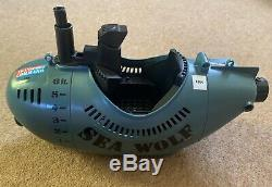 Vintage 1970s Palitoy Action Man Transport Command SEA WOLF Submarine Parts Boat